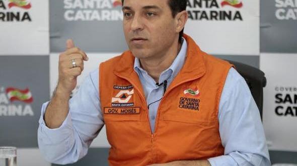 Movimento Reage SC enviou amplo ofício ao governador Carlos Moisés Foto:Maurício Vieira